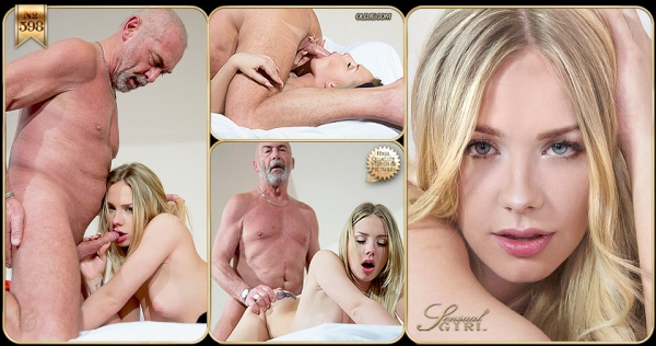 Angie Lee - №598 Old Man, Young Desire [FullHD 1080p] - 0ldje.com