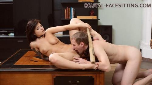 Brutal-Facesitting.com [Mistress Jynx - Cruel BaseBall-Girl] HD, 720p