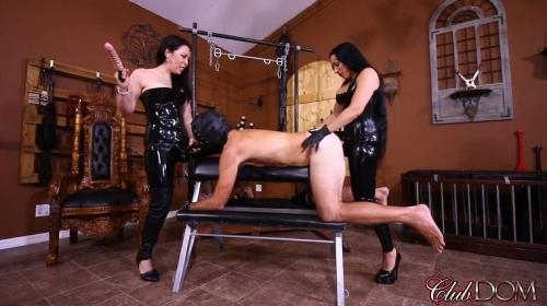 ClubDom.com [Lydia Supremacy, Michelle Lacy - Borrowing A Slave\'s Ass] FullHD, 1080p