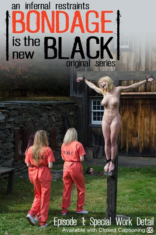 InfernalRestraints.com: Harley Ace, Winnie Rider, Ashley Lane - Bondage Is The New Black Episode 1 [SD] (376 MB)