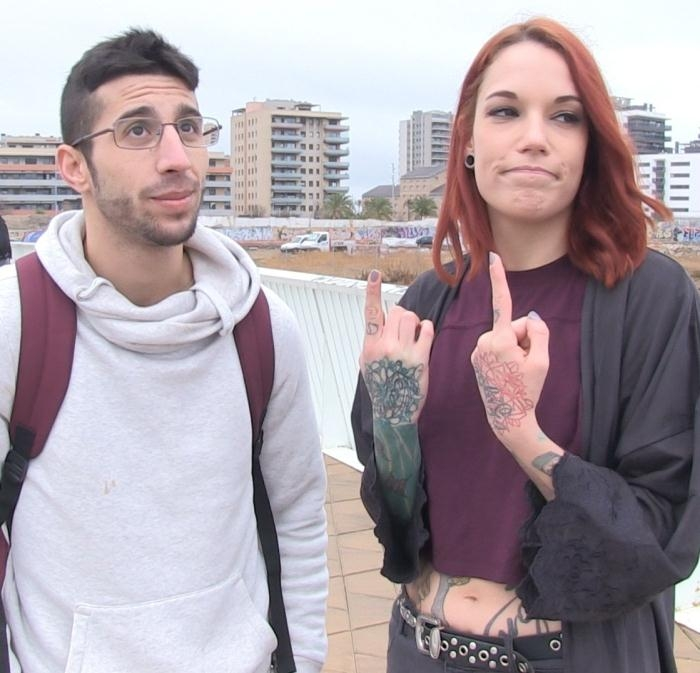 Silvia Rubi - Pick up and fuck with Spanish pornstar Silvia Rubi turns into threesome  [HD 720p]