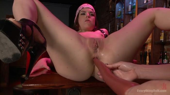 EverythingButt.com - Dana DeArmond and Juliette March - Extreme Anal Rough Rider Biker Babe Gets DPed in a Biker Bar [SD, 540p]