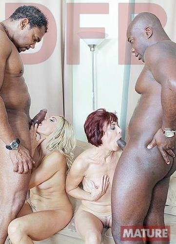 DFBnetwork.com [Brittany, Lara Red - Two hot matures fuck black guys] SD, 480p