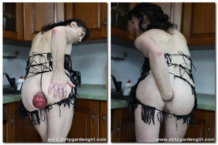 Dirty Garden Girl - Kitchen fisting and prolapse fun / 18 Mar 2017 [DirtyGardenGirl / FullHD]