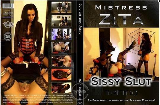 Mistress-Zita: Mistress Zita - Sissy Slut Training (SD/480p/1.03 GB) 10.03.2017