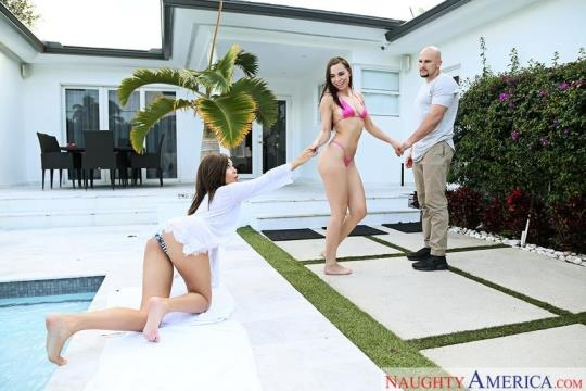 WivesOnVacation, NaughtyAmerica: Aaliyah Hadid, Aidra Fox (SD/360p/309 MB) 24.03.2017