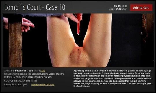 ElitePain: Lomp's Court - Case 10 (FullHD/1080p/1.69 GB) 03.03.2017