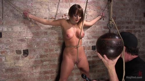 Charlotte Cross - Charlotte's Caught in a Web of Bondage and Tormented [HD, 720p] [Hogtied.com / Kink.com]
