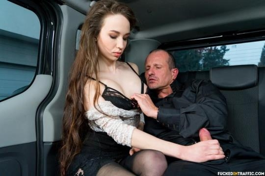 FuckedInTraffic, PornDoePremium: Angel Rush - Steak & Blowjob Day hot fuck in the car with Russian babe Angel Rush (SD/480p/553 MB) 10.03.2017