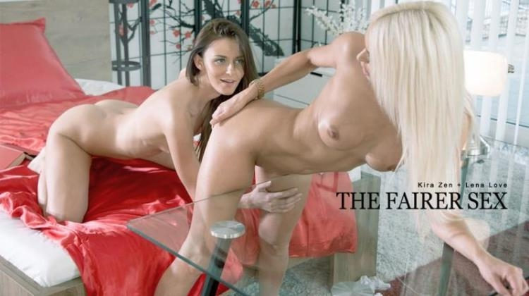 Kira Zen, Lena Love - The Fairer Sex / 20 Mar 2017 [Babes / SD]