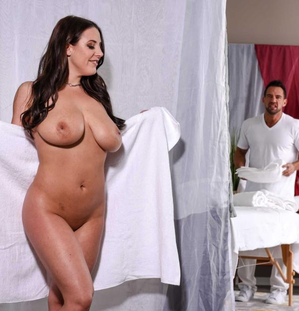 Angela White - The Wrong Massage Feels So Right (DirtyMasseur) [HD 720p]