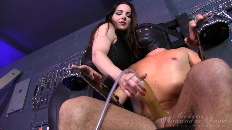 GoddessAlexandraSnow.com: Goddess Alexandra Snow - Pleasureless Machine [HD] (375 MB)