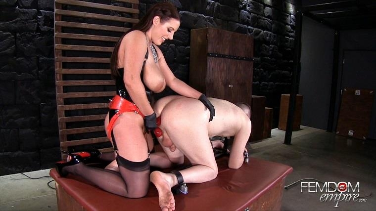 FemdomEmpire.com: Amy White - Ass to Mouth [FullHD] (1.67 GB)