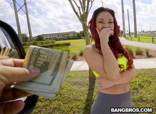 BangBus.com / BangBros.com [Brooke Beretta - Yoga Hoser Hops On The Bus] SD, 480p