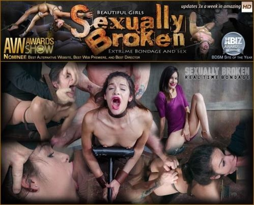 SexuallyBroken.com / RealTimeBondage.com [Eden Sin BaRS part 2: Edin is put on the board of destruction. Brutal fucking, and deepthroatin] SD, 540p