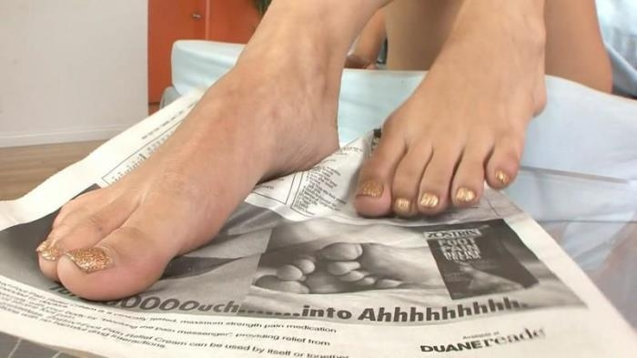 FootFetishDaily.com - Foot Fetish Daily 8 [HD, 720p]