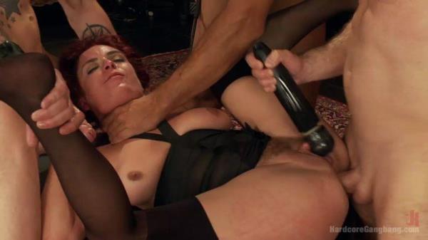 HardcoreGangBang - Ashlee Graham - High End Slut services BDSM Gentlemen's Club! [SD, 540p]