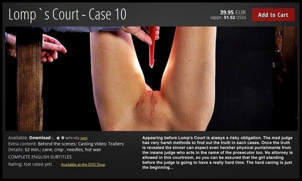 Lomp's Court - Case 10 / 03 Mar 2017 [ElitePain / FullHD]