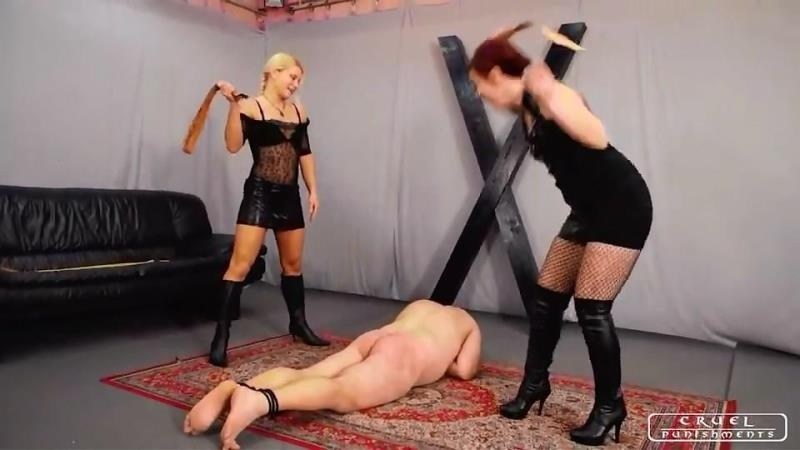(Female Domination / MP4) Lady Zita and Lady Maggie - Suffer And Cry CruelPunishments.com - SD 540p