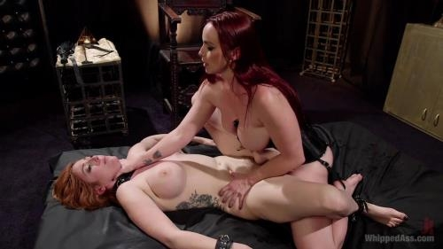 WhippedAss.com / Kink.com [Lauren Phillips, Bella Rossi - Bella Rossi Breaks in Redhead Lesbian Anal Slave] HD, 720p