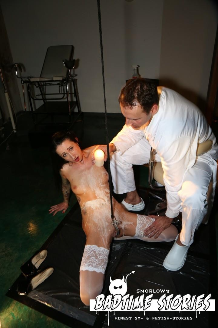 Badtimestories.com / Porndoepremium.com: Stella Star - Piss play and BDSM action with German slave Stella Star and doctors PT 2 [FullHD] (3.08 GB)