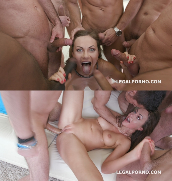 Tina Kay - 7on1 Double Anal GangBang with Tina Kay No Pussy /Balls Deep Anal /DAP /12 Swallow /No doubt she is a pro slut! GIO333 (LegalP0rno) [HD 720p]