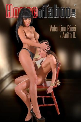 HouseOfTaboo.com / DDFNetwork.com [Anita B. aka Anita Berlusconi and Valentina Ricci - Sentenced To Spank - Petite Submissive Gets Dildo Up Her Ass] SD, 540p
