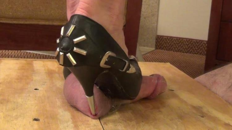 Mistress Christina - Double Ball Piercings / 21 Mar 2017 [HIGH HEEL Trample by Ms Christina, Clips4sale / FullHD]