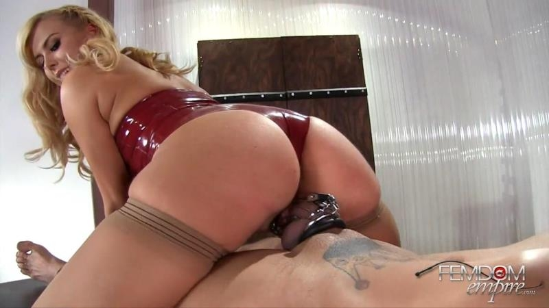 FemdomEmpire.com: Mistress Summer Day - Chastity Pussy Slide [HD] (152 MB)