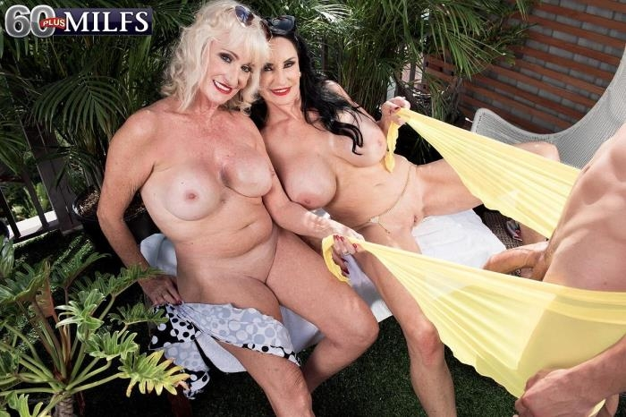 ScoreHD.com / PornMegaLoad.com / 60PlusMilfs.com - Rita Daniels and Leah L'Amour - Dream three-way [FullHD, 1080p]
