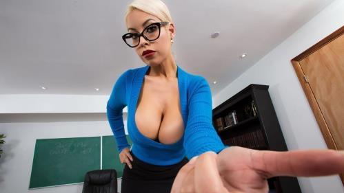BigTitsAtSchool.com / Brazzers.com [Bridgette B - Teacher\'s Tits Are Distracting] SD, 480p
