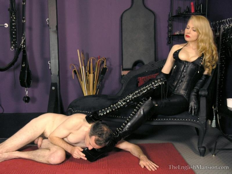 TheEnglishMansion.com: Mistress Eleise - Worship My Leather [HD] (382 MB)