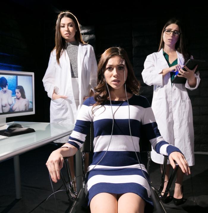 Shyla Jennings, Serena Blair, Melissa Moore- Lesbian Research Study  [HD 720p] GirlsWay