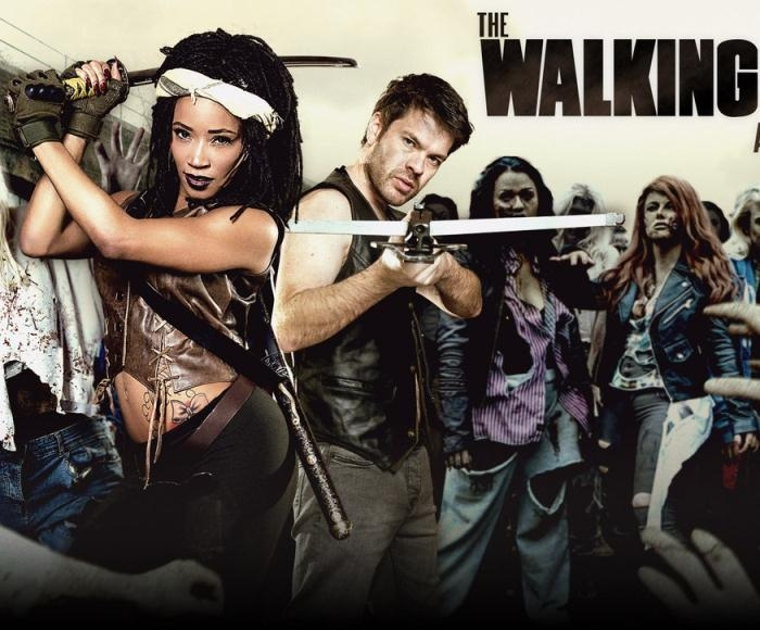 Kiki Minaj- The Walking Dead: A XXX Parody  [HD 720p] DigitalPlayGround