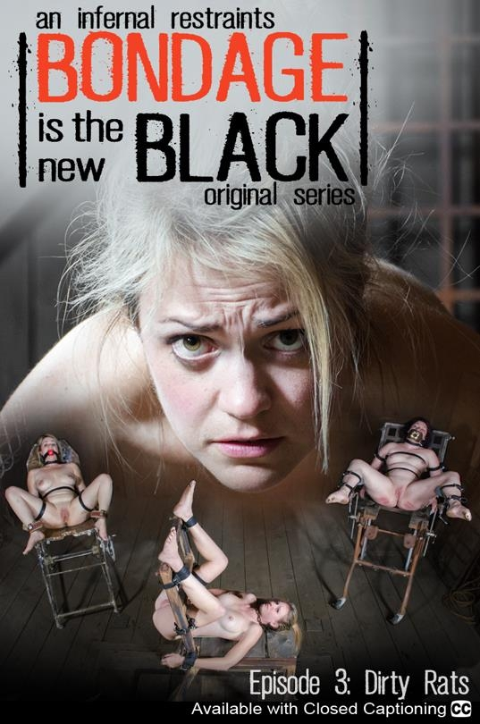 Harley Ace, Winnie Rider, Ashley Lane - Bondage Is The New Black Episode 3 (InfernalRestraints) SD 480p