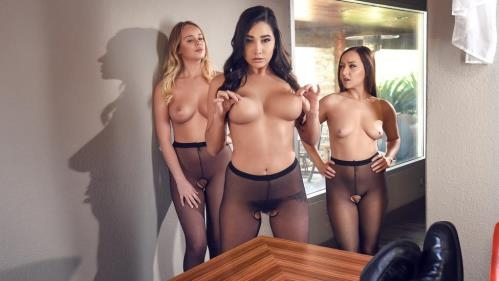 BigTitsAtWork.com / Brazzers.com [Karlee Grey - Hoes in Pantyhose] SD, 480p
