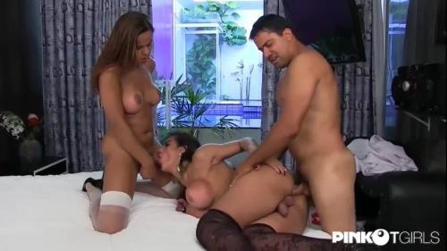 PinkoTGirls.com [Yasmin Fontes, Anitta De Castrо] SD, 480p
