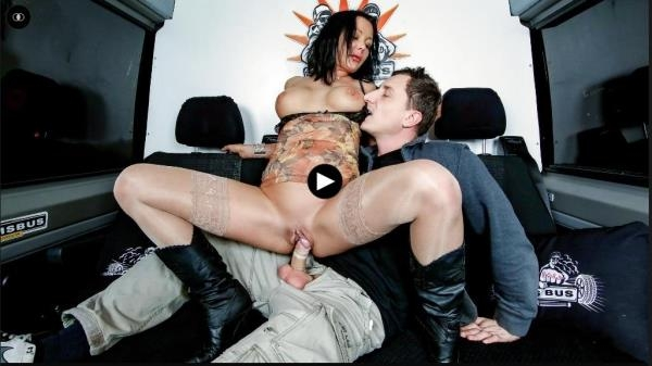 Anna Von - Steamy fuck and facial in the bus with German MILF Anna Von Freienwalde - BumsBus.com / PornDoePremium.com (SD, 480p)