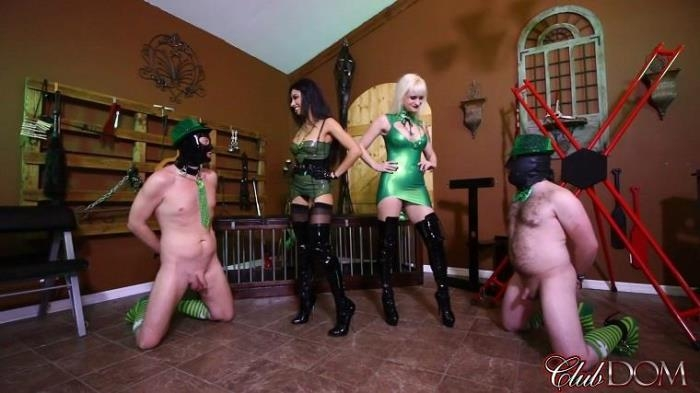 Female Domination - Dahlia Rain, Goddess Tangent - Leprechaun Slaves Are Good For Something [FullHD, 1080p]