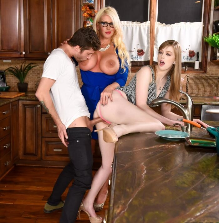Dolly Leigh, Alura Jensen - My Step Daughters Boyfriend  [HD 720p]