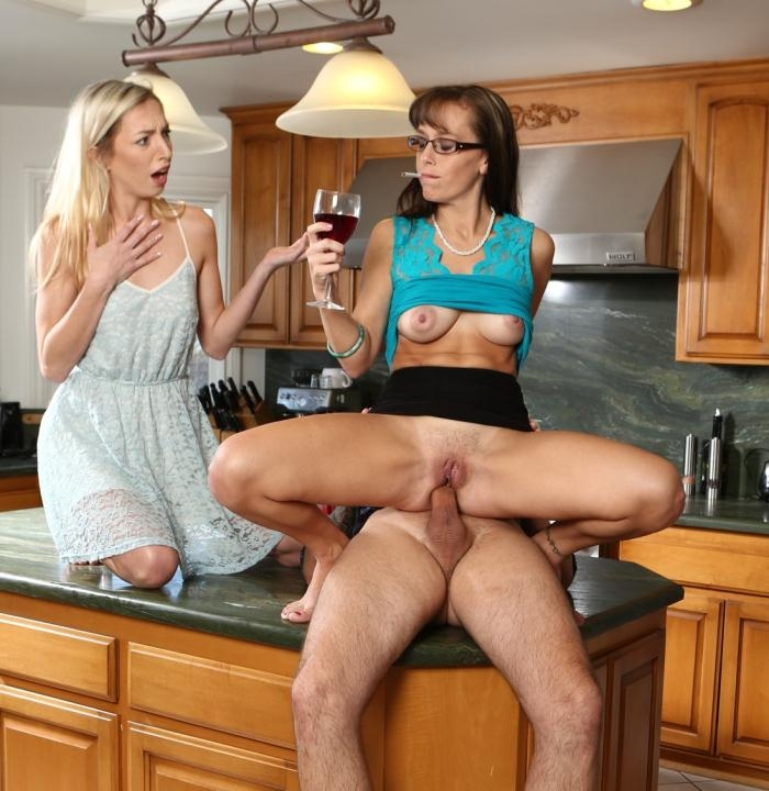 Alana Cruise, Zoe Parker - My Wife Caught Me Ass Fucking Her Mother 10, Scene 3  [FullHD 1080p]