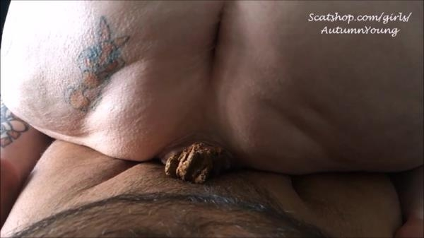 Scat Porn - DADDY I Have to Shit - Dick in Shit [FullHD, 1080p]