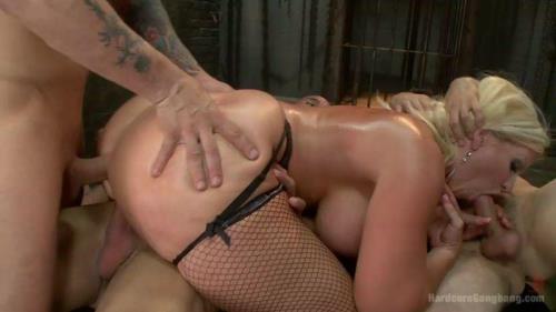 HardcoreGangBang.com [Alura Jenson - Desperate slutty wife gets her gangbang fantasy fulfilled] SD, 540p