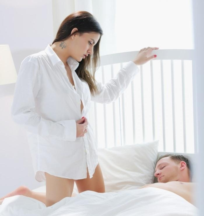 Sicilia, Candice Luca- Hot European babes Sicilia and Candice Luca in sensual FFM threesome  [HD 720p] TheWhiteBoxxx