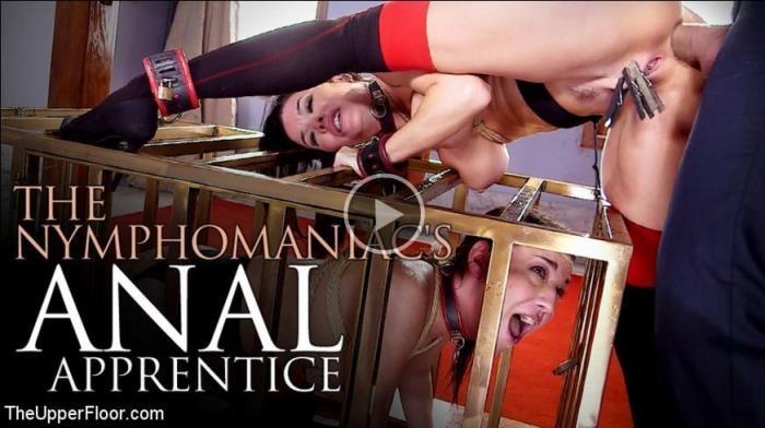 Veronica Avluv, Amara Romani - The Nymphomaniac's Anal Apprentice [TheUpperFloor, Kink] 540p