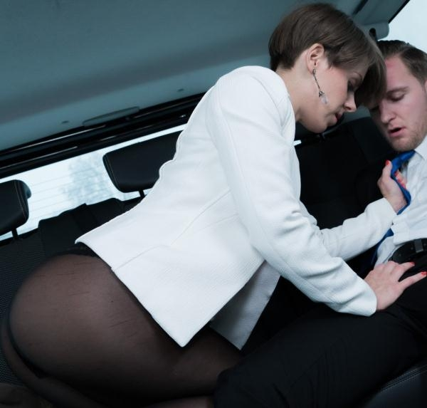 FuckedInTraffic: Sasha Zima  - Petite Ukrainian babe Sasha Zima gets cum on pussy in hot traffic fuck (2017) HD  720p