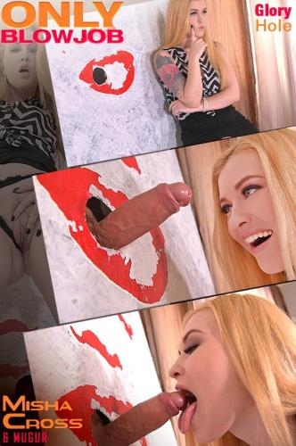 OnlyBlowJob.com / DDFNetwork.com [Misha Cross - Art Redefined: Glory Hole Blowjob Porn in The Office] SD, 540p