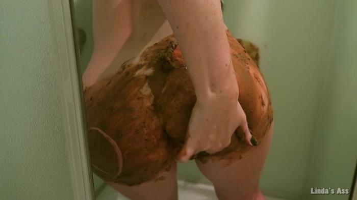 Big poop in a shower (Scat Porn) FullHD 1080p