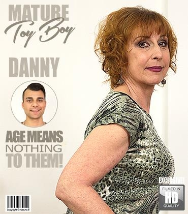 Danny (61) - Horny housewife doing her toyboy - Mature.nl / Mature.eu (FullHD, 1080p)