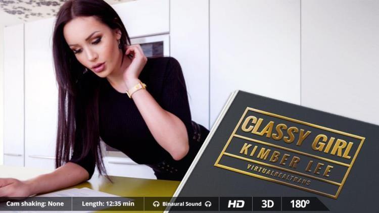 KimberLee (Kimber Lee) - Classy girl [VirtualRealTrans / FullHD]
